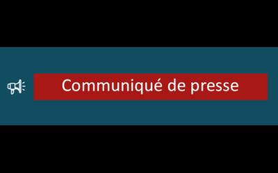 Communiqué de presse – Décès de Marcel CROQUEFER