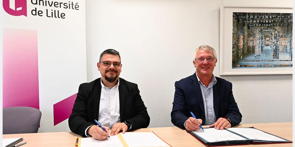 Nouvelle convention de partenariat entre l'Université de Lille et la CPME