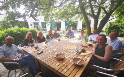 Retour en image sur notre déjeuner du 13 août
