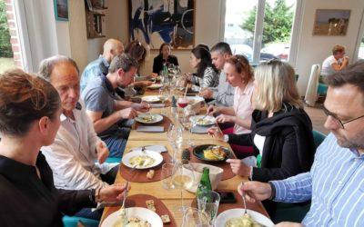 Retour sur le déjeuner mensuel au restaurant Le Baysca